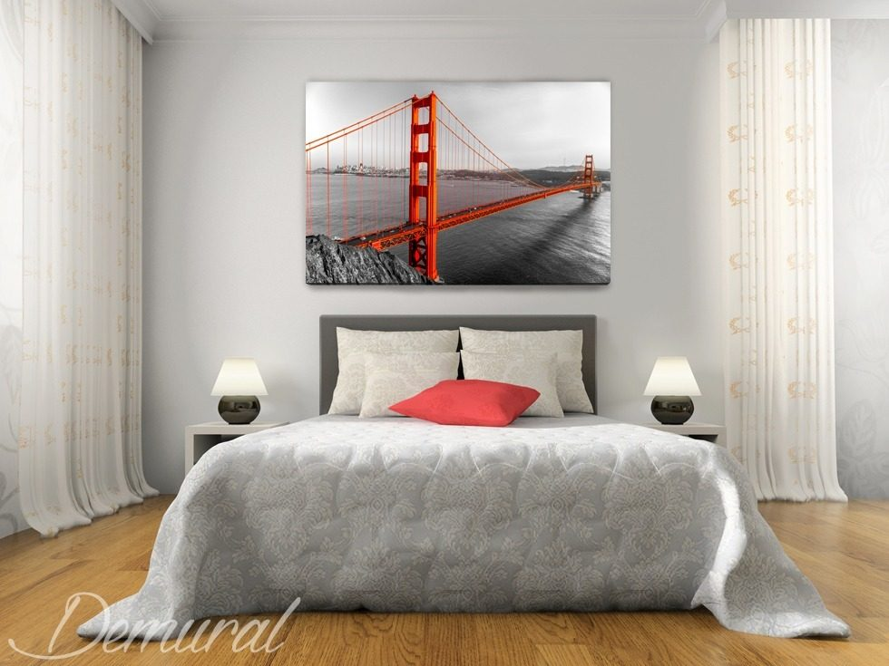 San Francisco privata - Quadri per la camera da letto - Quadri - Demural
