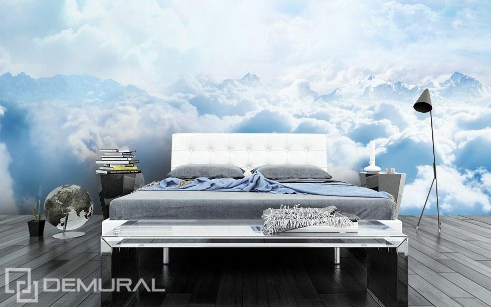 Il piumino che tocca il cielo carta da parati fotomurali camera da letto fotomurali demural - Poster camera da letto ...