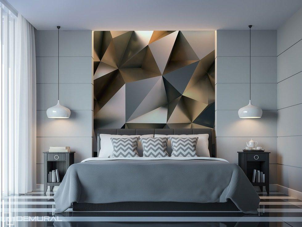 Geometrico miscuglio di esaltazione carta da parati fotomurali camera da letto fotomurali - Carta da parati 3d camera da letto ...