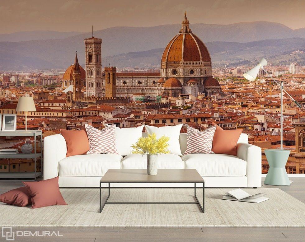 I paesaggi urbani la magia di classica carta da parati for City view wallpaper mural
