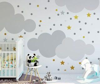 Fotomurali per camera del bambino demural for Carta da parati bambini