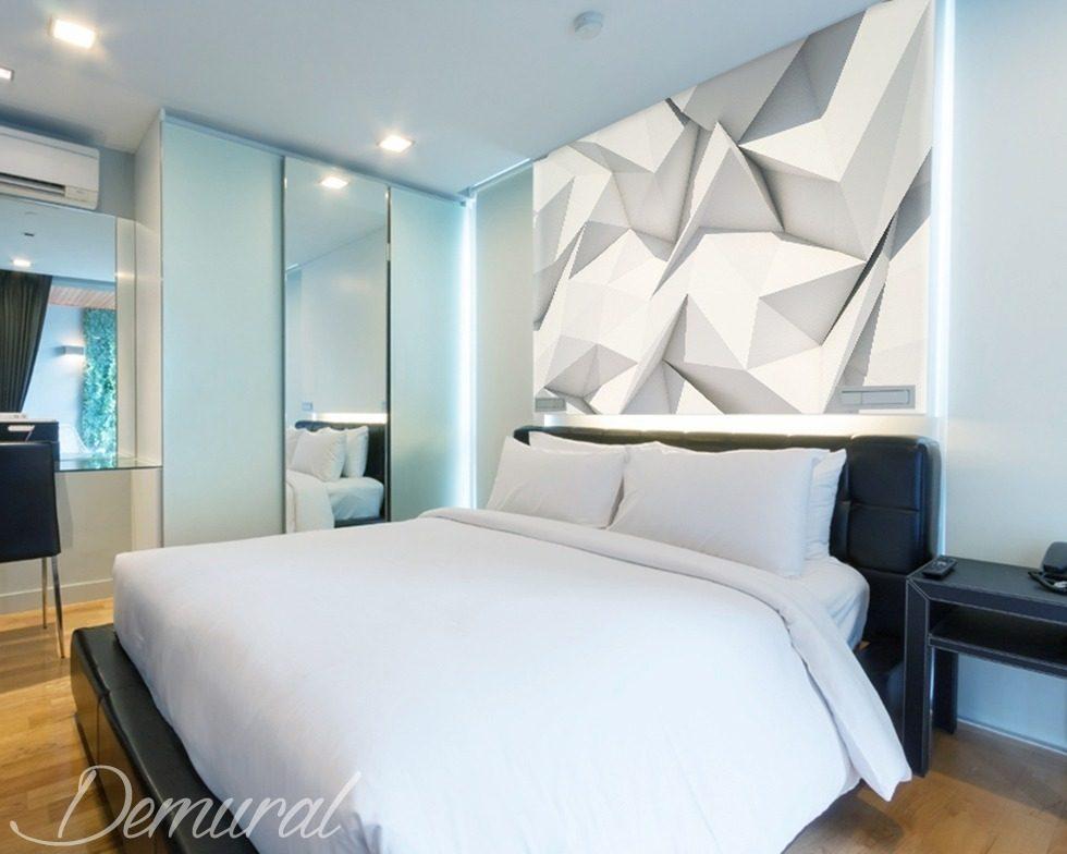 origami della camera da letto carta da parati fotomurali camera da letto fotomurali demural. Black Bedroom Furniture Sets. Home Design Ideas