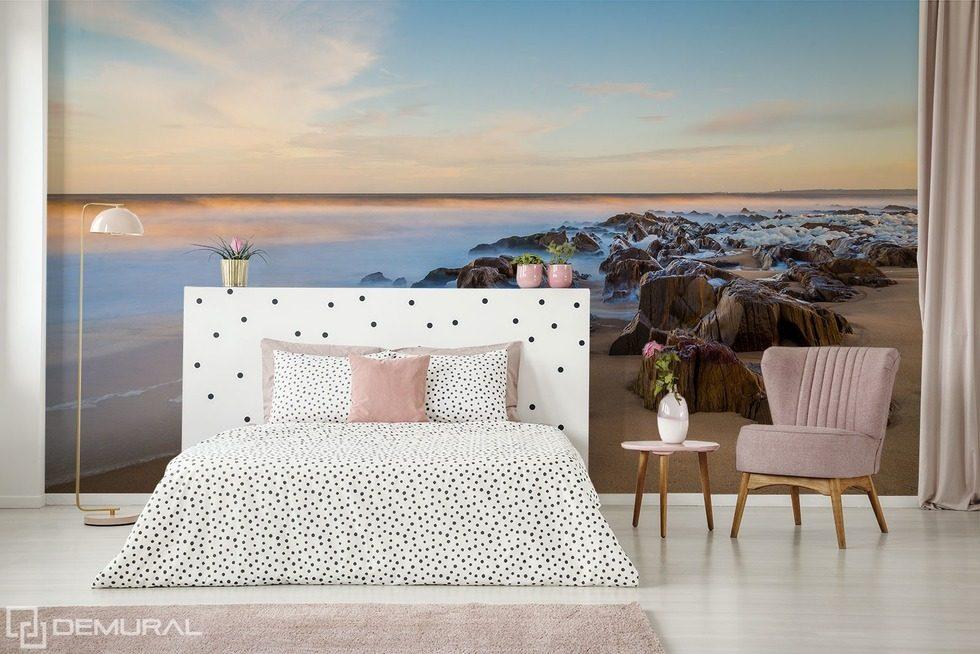 Mattinata al mare - Carta da parati fotomurali camera da letto ...