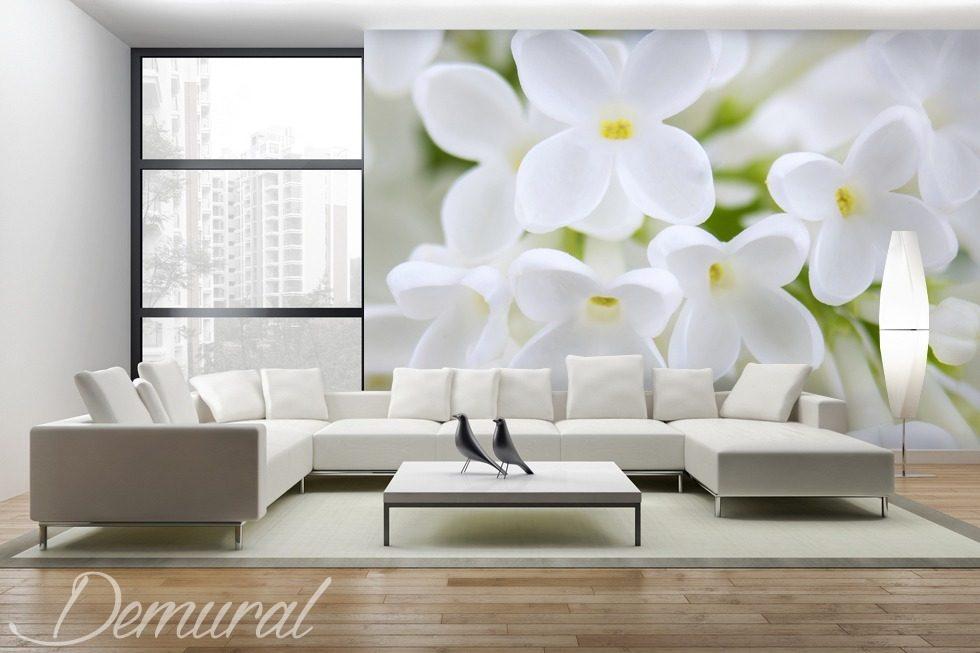 Pergola del salotto - Carta da parati fotomurali fiori - Fotomurali - Demural
