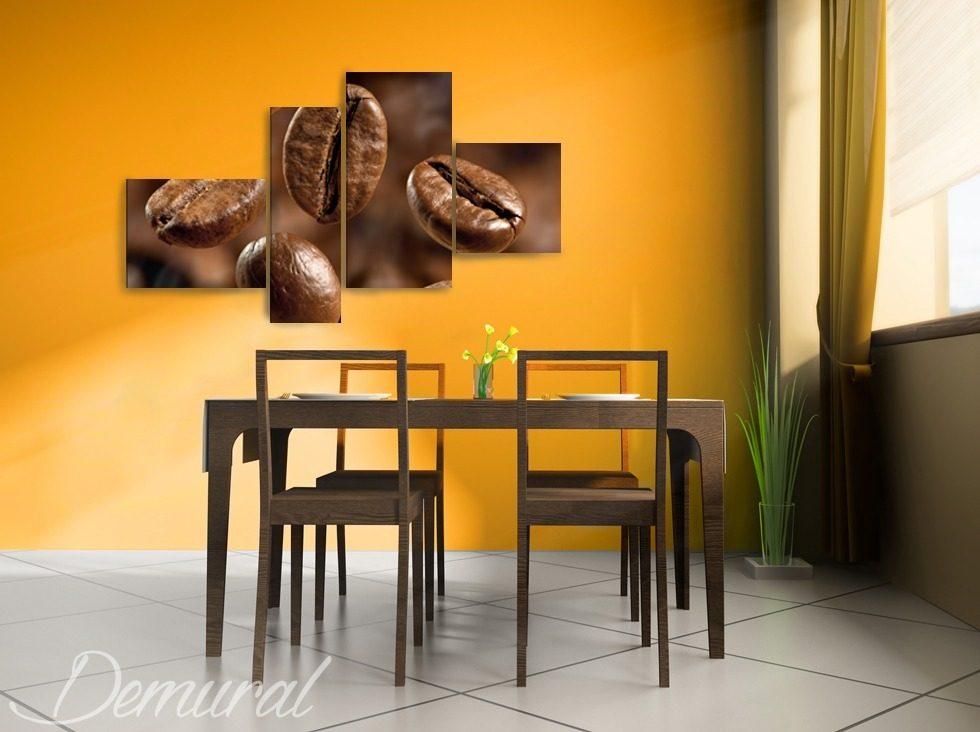 Puzzle di caff quadri per la sala da pranzo quadri - Quadri per sala da pranzo ...
